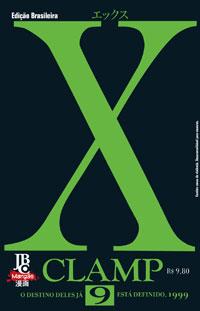 capa de X #09