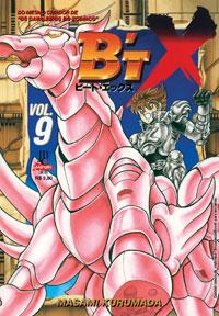 capa de B'tX #09