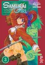 capa de Samurai Girl #03