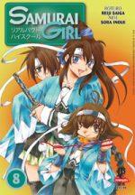 capa de Samurai Girl #08