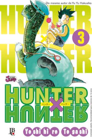 capa de Hunter X Hunter #03