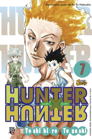 capa de Hunter X Hunter #07