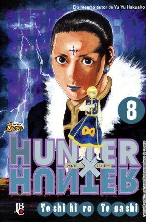 capa de Hunter X Hunter #08