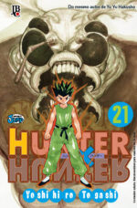 capa de Hunter X Hunter #21