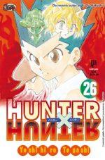 capa de Hunter X Hunter #26