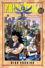 capa de Fairy Tail #13