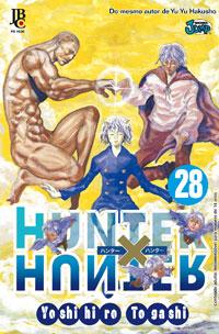 capa de Hunter X Hunter #28