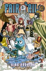 capa de Fairy Tail #21