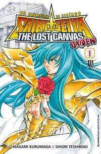 capa de Os Cavaleiros do Zodíaco: The Lost Canvas Gaiden #01