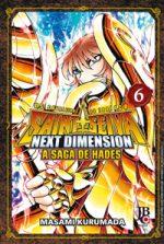 capa de CDZ - Next Dimension: A Saga de Hades #06