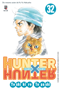 capa de Hunter x Hunter #32
