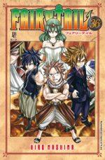 capa de Fairy Tail #36
