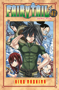 capa de Fairy Tail #41
