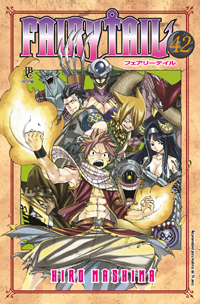 capa de Fairy Tail #42