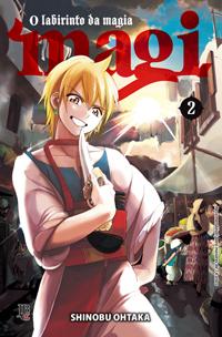 capa de Magi - O Labirinto da Magia #02
