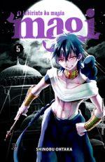capa de Magi - O Labirinto da Magia #05