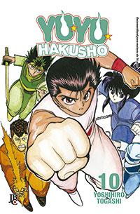 capa de Yu Yu Hakusho ESP. #10