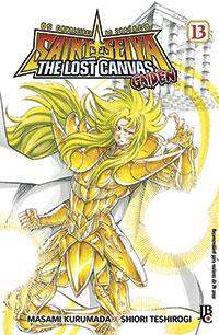capa de Os Cavaleiros do Zodíaco: The Lost Canvas Gaiden #13
