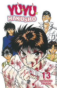 capa de Yu Yu Hakusho ESP. #13