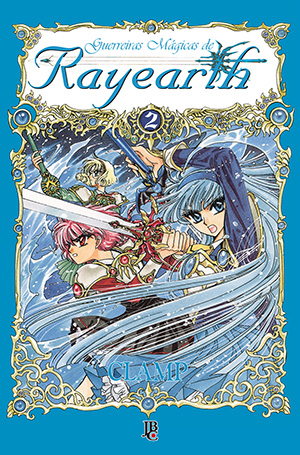 capa de Guerreiras Mágicas de Rayearth #02