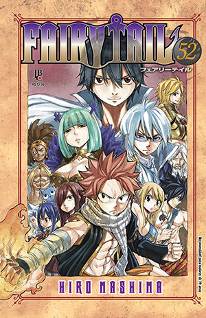 capa de Fairy Tail #52