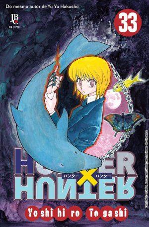 capa de Hunter x Hunter #33
