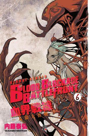 capa de Blood Blockade Battlefront #06
