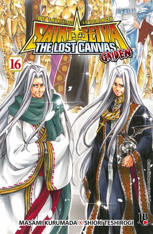 capa de CDZ: The Lost Canvas Gaiden #16