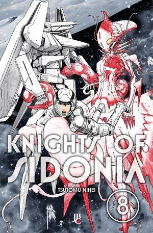 capa de Knights of Sidonia #08