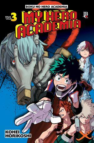capa de My Hero Academia #03
