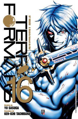 capa de Terra Formars #16