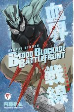 capa de Blood Blockade Battlefront #07