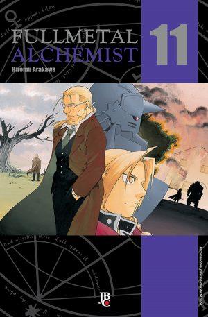 capa de Fullmetal Alchemist ESP. #11
