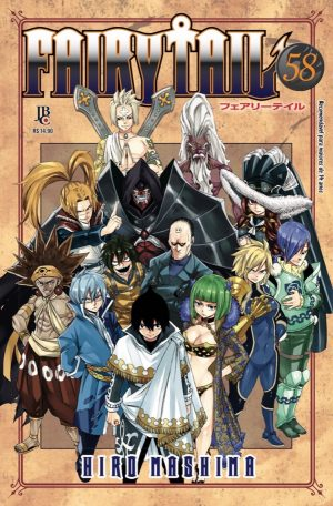 capa de Fairy Tail #58