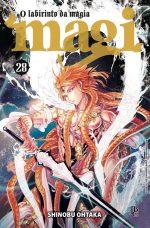 capa de Magi: O Labirinto da Magia #28