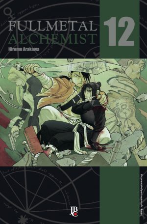 capa de Fullmetal Alchemist ESP. #12
