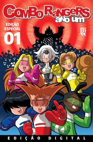 capa de Combo Rangers Ano Um #01