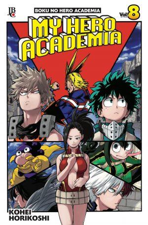 capa de My Hero Academia #08