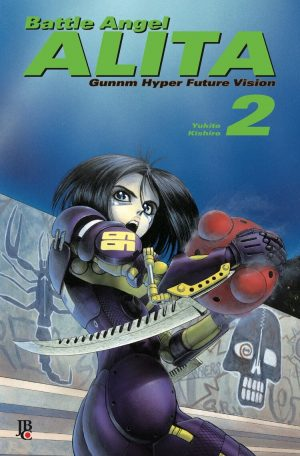 capa de Battle Angel Alita #02