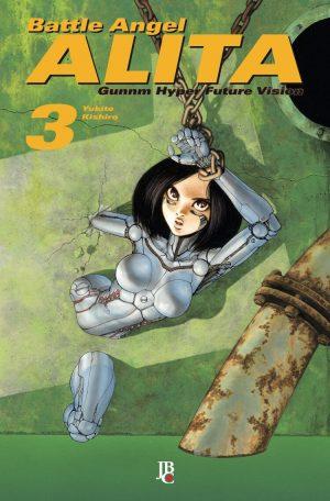 capa de Battle Angel Alita #03