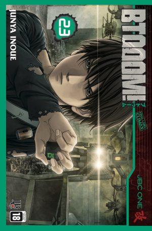 capa de BTOOOM! #23