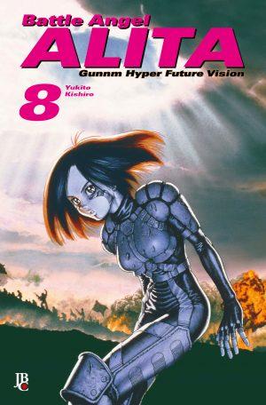 capa de Battle Angel Alita Digital #08