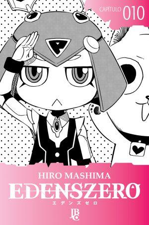 capa de Edens Zero Capítulo #010