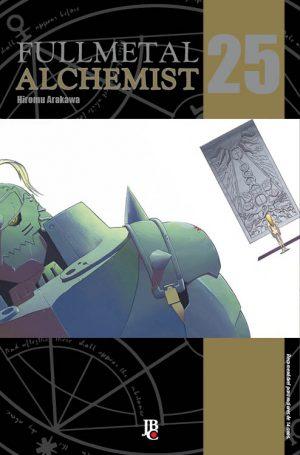 capa de Fullmetal Alchemist ESP. #25