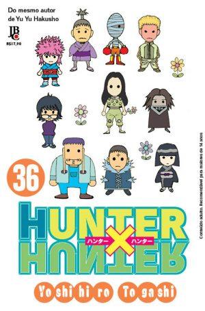 capa de Hunter x Hunter #36
