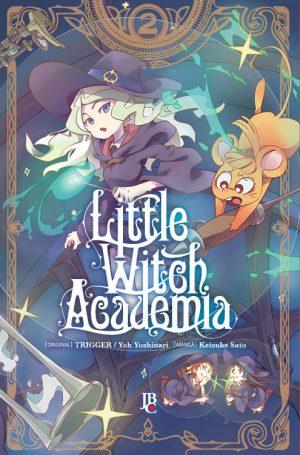 capa de Little Witch Academia #02