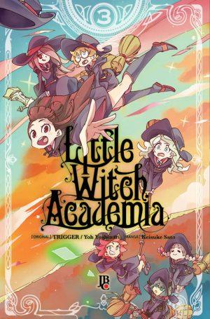 capa de Little Witch Academia #03