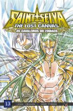 capa de CDZ The Lost Canvas ESP. #13