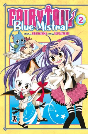 capa de Fairy Tail Blue Mistral #02