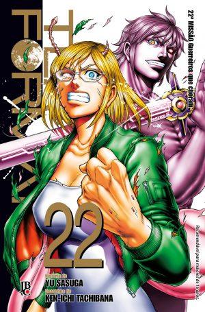 capa de Terra Formars #22